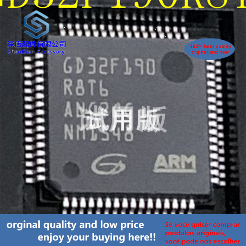 1pcs 100% Orginal And New GD32F190R8T6 LQFP64 Best Qualtiy