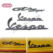 Adesivi moto adesivo carenatura 3M Logo 3D in plastica decorare per Vespa GTS Super 250 300