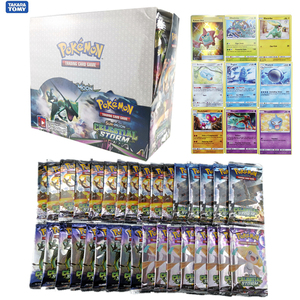 324pcs/box Pokemon Cards TCG: Sun & Moon Celestial Storm 36-Pack Booster Box Trading Card Game Kids Toys