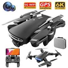 2021 Nuovo KK7 Pro 6k GPS RC Drone 5G WiFi FPV con videocamera HD Flusso ottico pieghevole Quadcopter Dron Giocattoli per bambini Regali