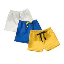 Летние шорты для маленьких мальчиков модные хлопковые и девочек