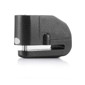Image 5 - Cadenas dalarme pour Moto, cadenas de sécurité étanche pour Moto, accessoire de sécurité Anti vol pour freins à disques, cadenas avec sirène pour Suzuki, Kawasaki et BMW