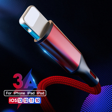 iONCT 3A Fast Charging Nylon data USB Cable for iPhone