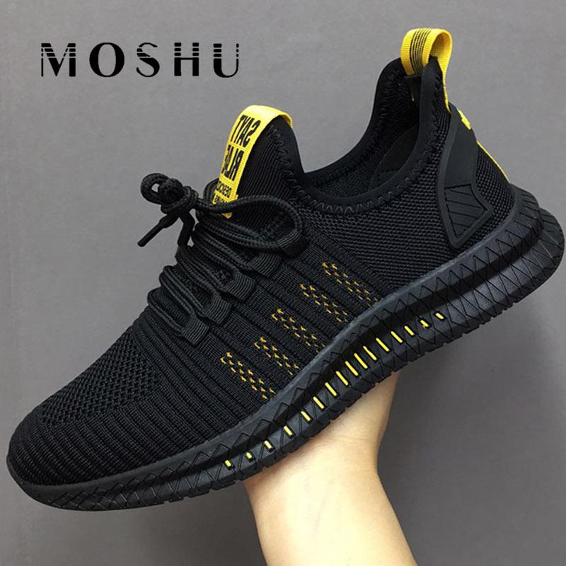 Men Sneakers Mesh Vulcanized Shoes Casual Tenis Masculino Lac-up Men Shoes Lightweight Vulcanize Shoes Sapato Masculino