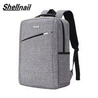 Shellnail 노트북 가방 노트북 가방 15.6 노트북 슬리브 남자 배낭 컴퓨터 가방 비즈니스 서류 가방 여행 bagpacks 메이크업 가방