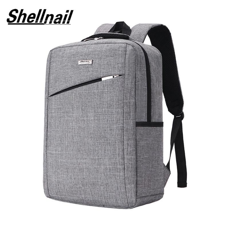 Shellnail Laptop Bag Notebook Bag 15.6 Laptop Sleeve Men Backpacks Computer Bag Business Briefcase Travel Bagpacks Makeup Bags