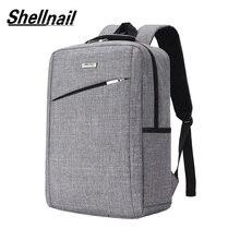 Shellnail sac à dos pour hommes, sacoche pour ordinateur portable pochette dordinateur, sacoche de voyage, sacoche de maquillage 15.6 pochette pour ordinateur portable mallette daffaires