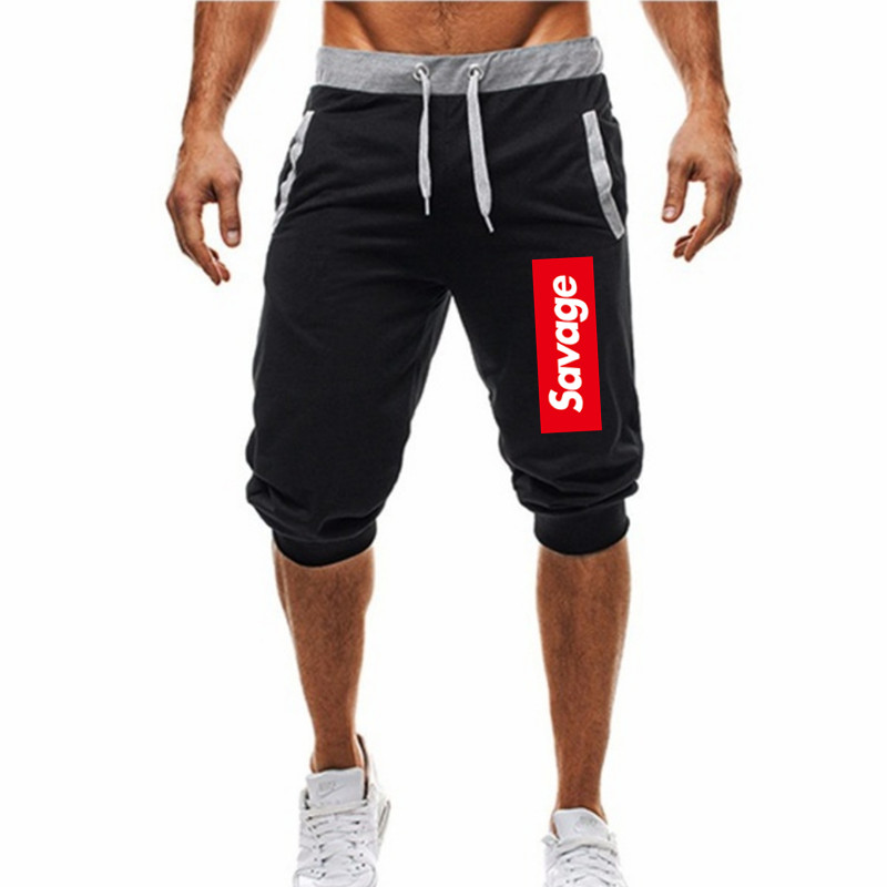 Summer 2020 New Style Casual Cool Printing Shorts Gyms Fitness Sportswear Bottoms Male Running Training Quick Dry Beach Short