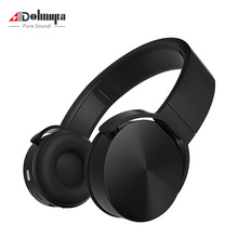 ohmyta Foldable Sports Bluetooth Headphones Wired/Wireless Heavy Bass Computer Game Headset for Phones and Music