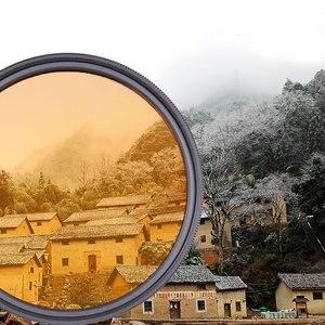 Image 4 - Filtro colorido de cor fld laranja vermelho amarelo verde azul 30 49mm 52mm 55 58mm 62mm 67mm 72mm 77mm para câmera canon nikon sony dslr