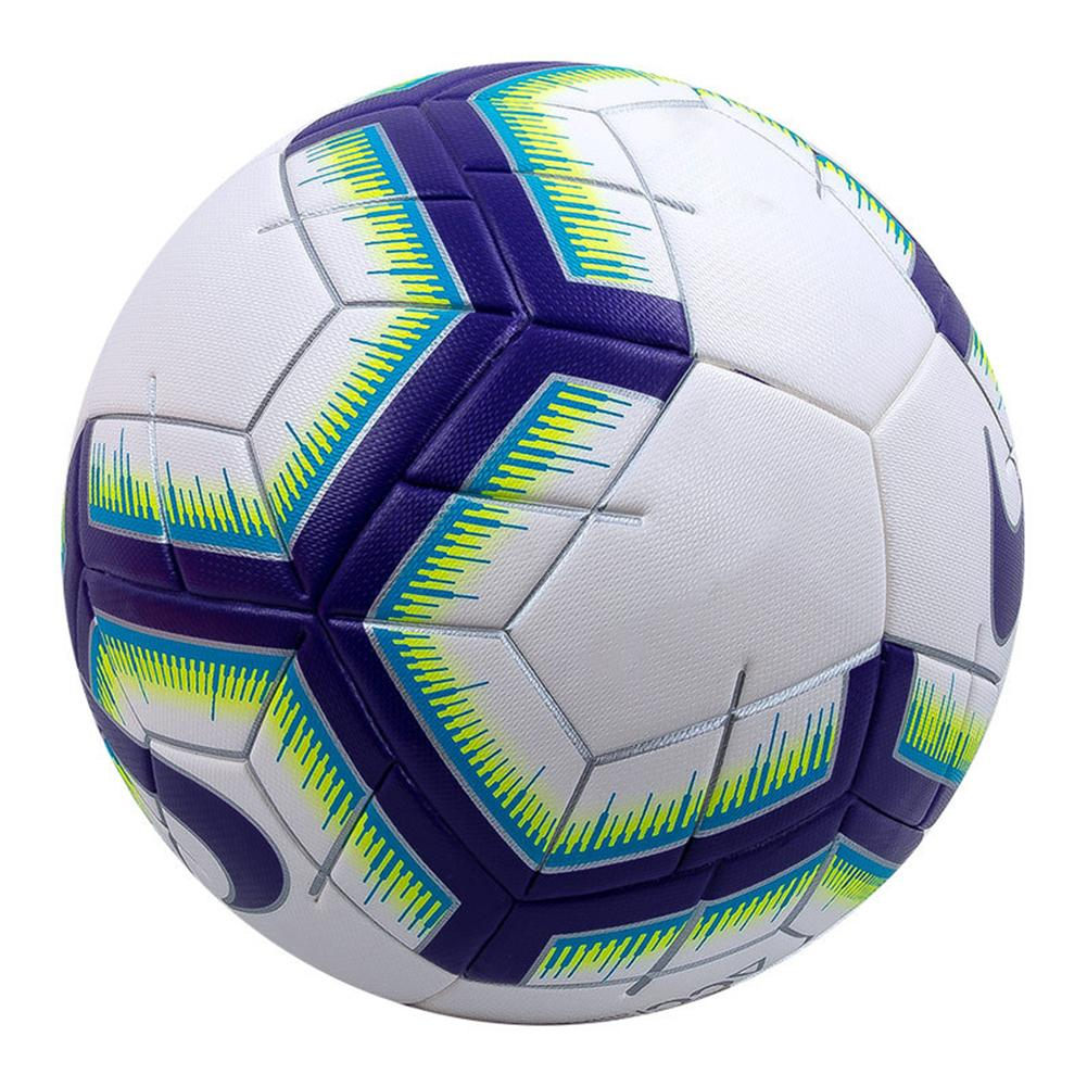 Professional Size 5 Faux Leather Football Training Match Sports Soccer Ball New Chic