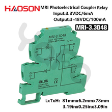 1pc Input 3.3V 5V 12V 24V 230V Photoelectrical Coupling-interface Relay