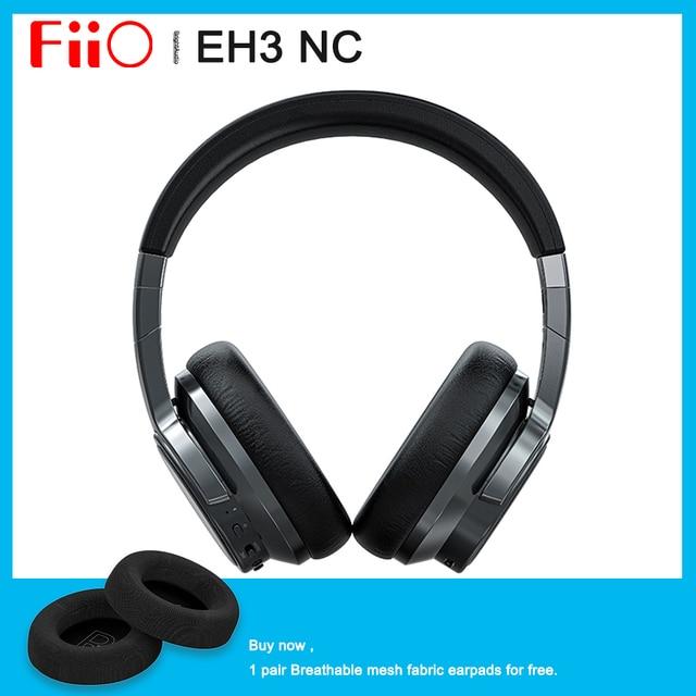 FiiO EH3 NC EH3NC auriculares por Bluetooth 5,0 con cancelación de ruido, soporte LDAC/aptX HD/One touch NFC/50hr duración de la batería