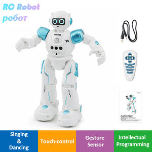 Image 1 - LEORY RC ロボットインテリジェントプログラミングリモコン Robotica 歌うジェスチャーダンスロボット子供の誕生日ギフト