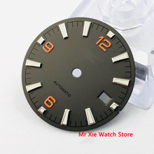 31mm marcas luminosas assista dial ajuste miyota 8205/8215/821a/82series, eta 2836/2824, mingzhu dg2813/3804 movimento(China)