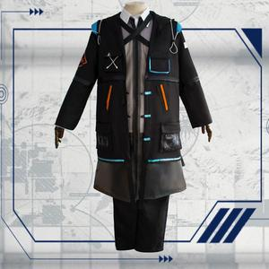 Image 3 - 2019 New Game Arknights Doctor Ph. D. Cosplay Costume Halloween Outfit Set RHODES ISLAND