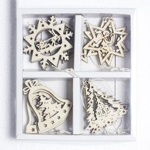 2018 New Christmas decoration pendant holiday supplies woode