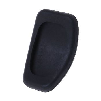 Car Clutch and Brake Pedal Rubber Pad Cover For Renault Megane Laguna Clio Kango Scenic CCY Black E7CA image
