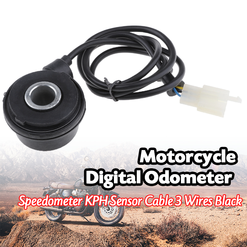 New Motorcycle Scooter Speedometer Cable Speed Sensor Case for Digital Odometer