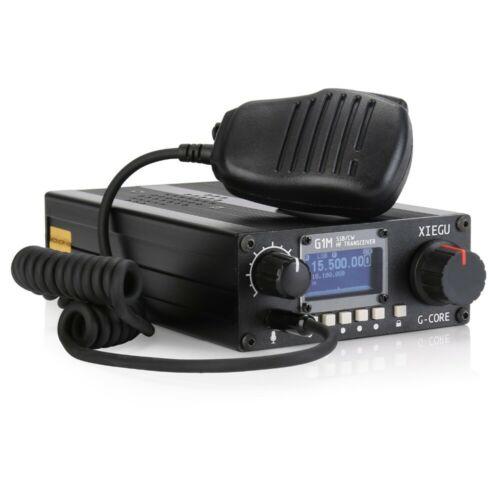 New XIEGU G1M SDR SSB/CW/AM 0.5 30MHz Moblie Radio HF Transceiver Ham Radio QRP-in Demo Board from Computer & Office
