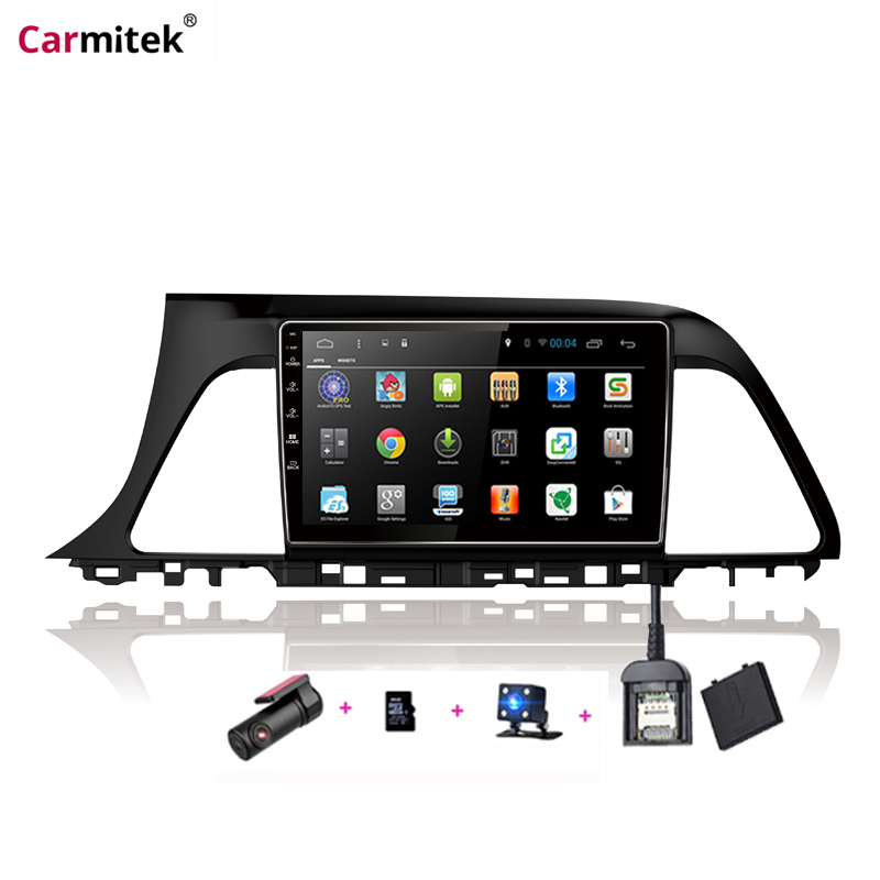 Carmitek New Style Multimedia Player Android GPS For Hyundai Sonata 9th Generation 2015 2016 2017 2018 2019 image