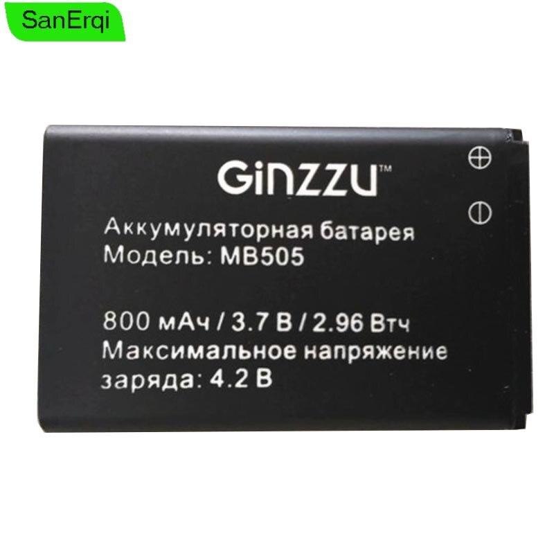 3.7V 800mAh Bateria para Ginzzu MB505 Ginzzu MB505 bateria Do Telefone Inteligente