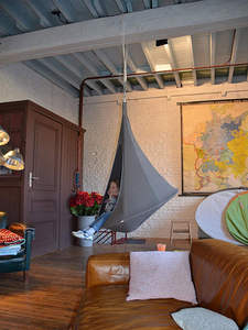 Swing-Chair Hammock Patio-Furniture Hanging Teepee-Tree Ufo-Shape Outdoor Adults Kids
