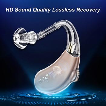 Audifonos aparat słuchowy cyfrowy wzmacniacz dźwięku przewodzenie powietrza słuchawki bezprzewodowe dla osób starszych głuchy pielęgnacja uszu aparaty słuchowe tanie i dobre opinie LIERDOCT Chin kontynentalnych V-263P A675 Button Battery 5000 Hours Air Conduction Sound power amplifier Hearing aid for hearing impaired