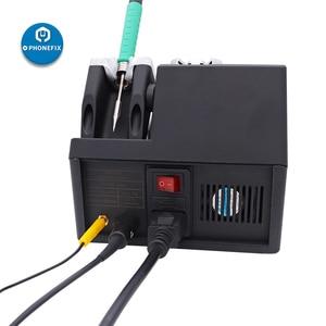 Image 5 - Jabe UD 1200 דיוק ללא עופרת OEM JBC UD 1200 ערוץ כפול כוח אספקת הלחמה תחנה