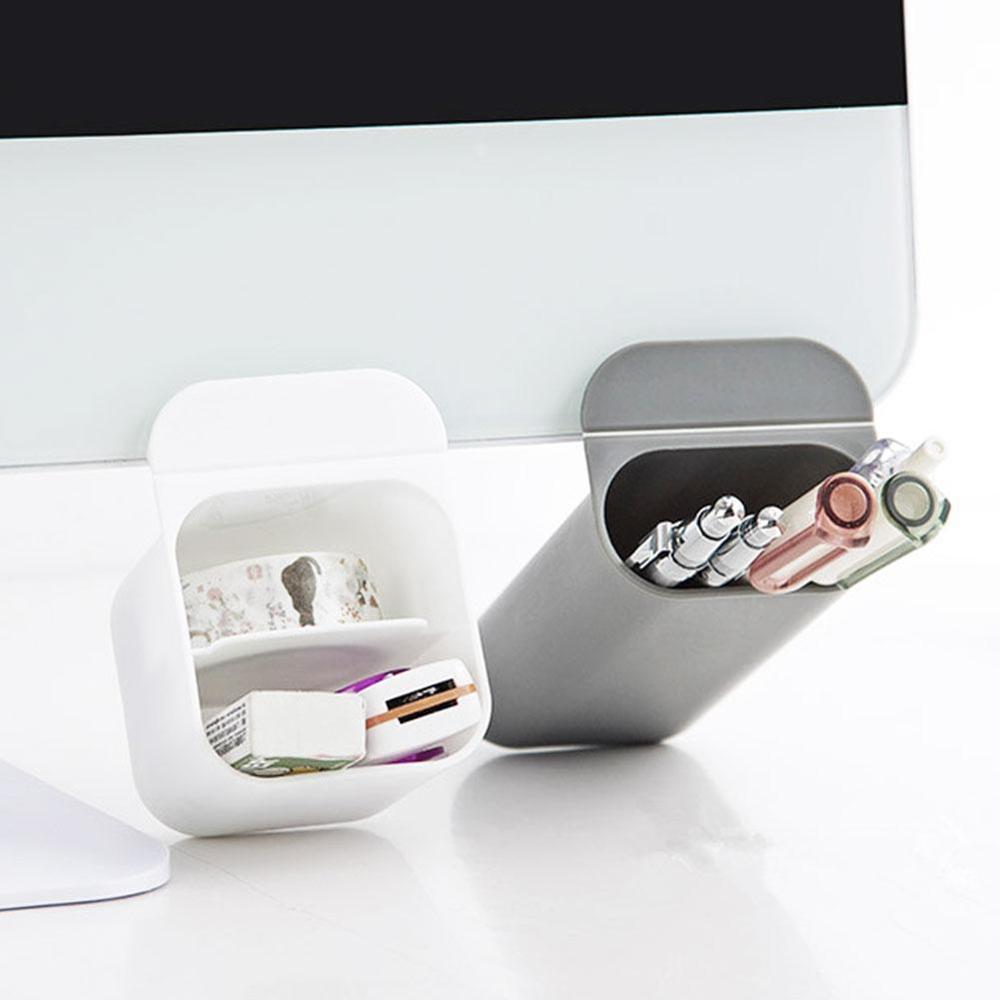 1PC Creative Pencil Holder Cup Pencil Ruler Organizer Container Pen Holder Desktop Organizer Storage Pocket Office Stationery