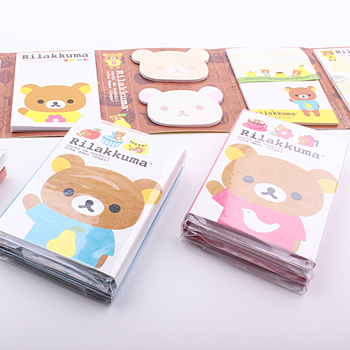 (1 pack) 200 Sheets Bear Series Memo pad Multi Sticky Notes Student Book marker Stationery Index Writing Supplies (dd-1758)