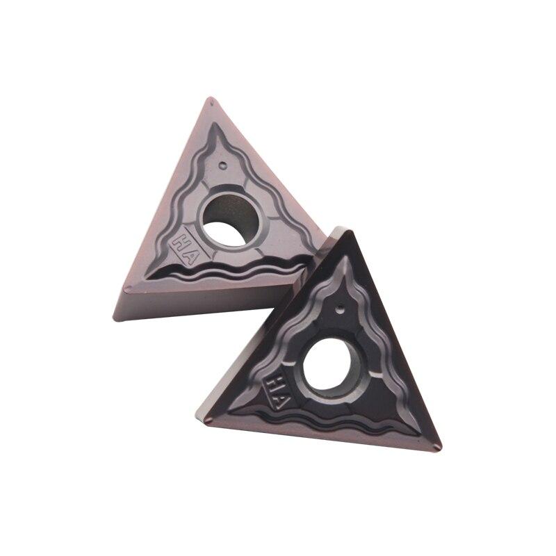 Купить с кэшбэком TNMG160404 HA HP1125 Carbide Inserts External Turning Tools Metal Turning Tools Machine Tool Parts Lathe Tool