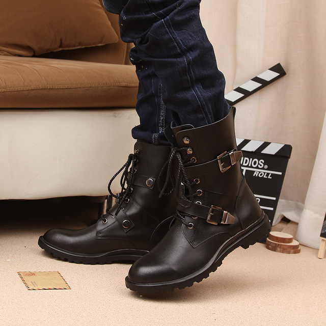 Motorcycle Martin Boots 2