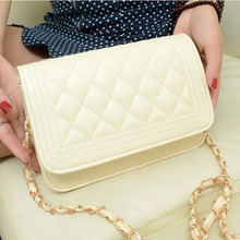 Small pack 2019 new Korean simple chain single shoulder fashion style oblique bag 100 take Ms. Lingge