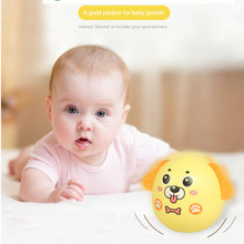 0-3Years Baby Toys Cartoon Dog Tumbler Nod Doll Sliding Bell Rattle Learning Education Toys Gifts Baby Bell Baby Toys