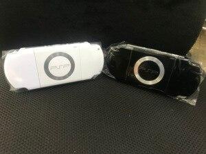 Image 5 - 送料無料黒色フルハウジングの前面プレートのケースの修理交換ソニー PSP 2000 2006 コンソールシェルとボタン