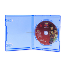 10 ソニーの PS4 プレイステーション 4 ブルー用交換ケース OEM ボックス 4 プロスリムブルーレイディスク
