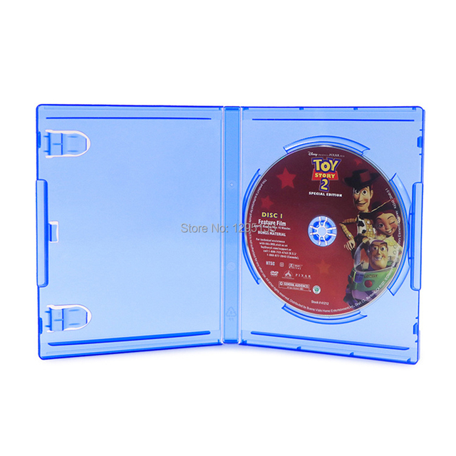 10 for Sony PS4 PlayStation 4 Blue Replacement Game Cases OEM Box for Play Station 4 Pro Slim Blu ray Disc