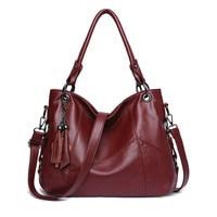 Leather Handbags Women Messenger Leathers Handbag Designer Crossbody Bags Tote Shoulder Bags Top handle Bag|Shoulder Bags| |  -