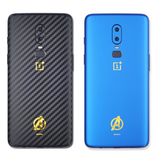 The Avengers PVC Phone Stickers For Oneplus 6 Back Protector