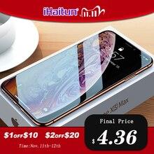 IHaitun Luxe 6D Glas Voor iPhone 11 Pro Max XS MAX XR X Screen Protector Gebogen Gehard Glas Voor iPhone X 11 10 7 8 Plus Volledige Cover Film SE SE2 2020