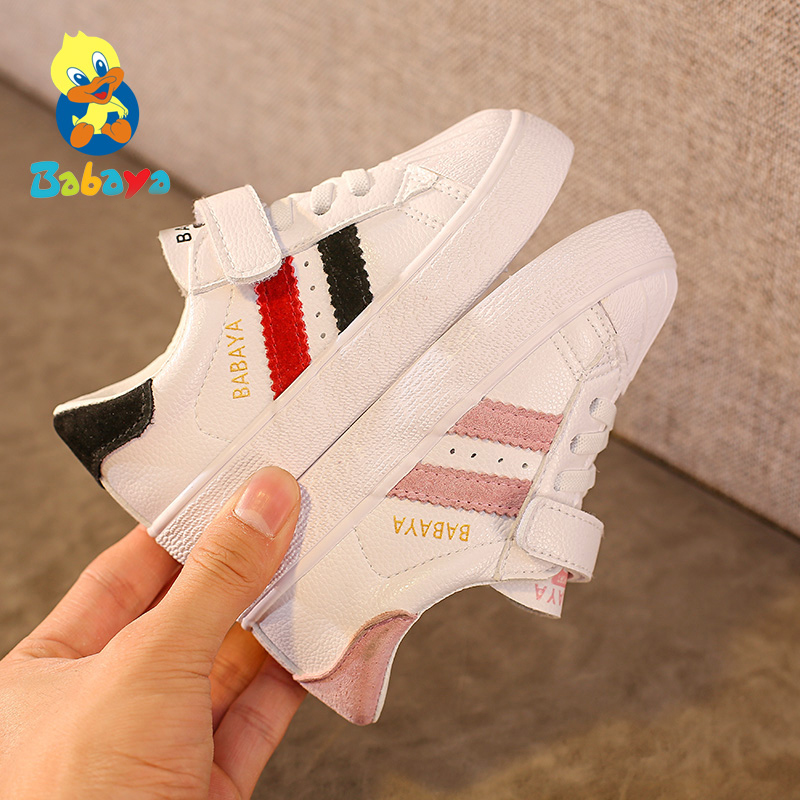 Children Shoes For Girl Boys Sneakers Spring Fashion Kids Casual Shoes Artificial Leather Breathable Infantil Chaussure Enfant