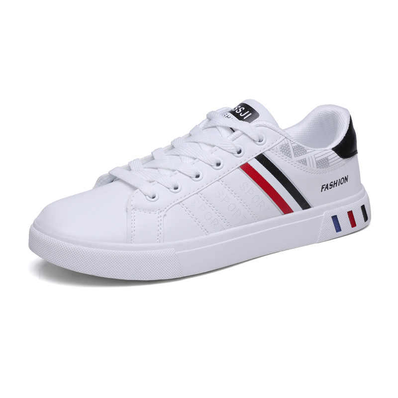 Mikarause 白カジュアルシューズメンズレザースニーカー男性快適スポーツランニングスニーカー男 Tenis モカシンファッション通気性の靴