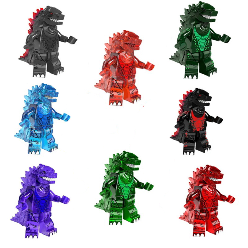 Monster Blocks Predator Giant Building Blocks Super Hero Figures Model Bricks Toy For Children