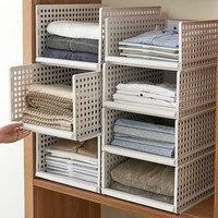 Multi size clothing Organizer Multi layer Home storage box  Closet Organizer For Scarfs Socks shelf pf8315|Storage Boxes & Bins| |  -