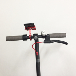 Image 5 - Phone Holder For Xiaomi Mijia M365 Electric Scooter For Qicycle EF1 M365 m187 Pro For Speedway For Jackhot Adjustable Anti drop