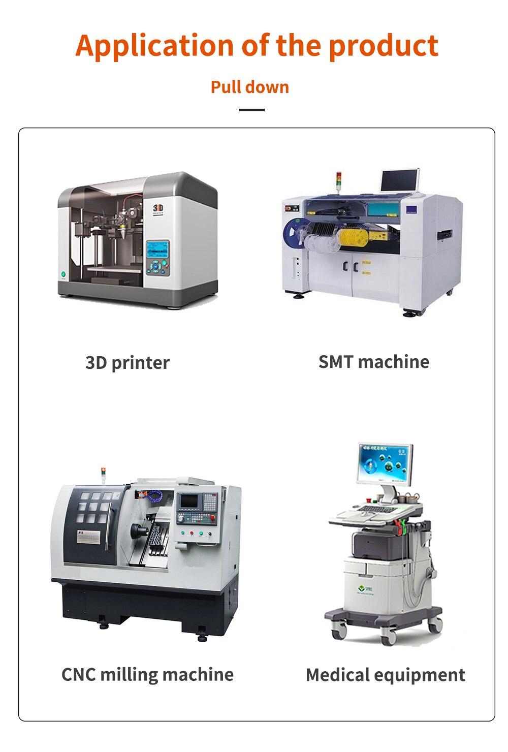 50 pces para impressora 3d cnc xyz