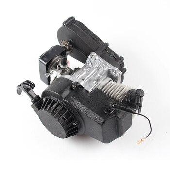 Motor 49cc/47cc arranque eléctrico de 2 tiempos con transmisión para Mini Moto Quad