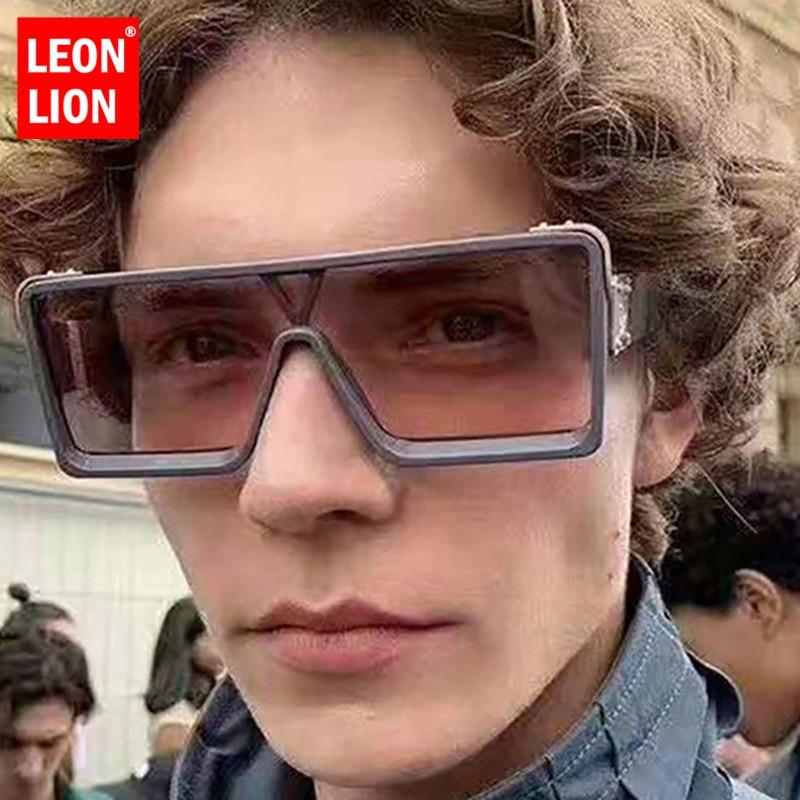 LeonLion 2020 Oversized Sunglasses Women Retro Sunglasses Women Brand Vintage Glasses Women/Men Designer Oculos De Sol Feminino