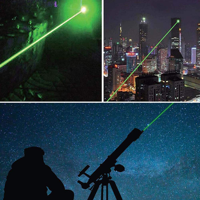 5MW LED Laser Pet Cat Toy Red Dot Light Sight 530Nm 405Nm 650Nm Interactive Pen Pointer- 6